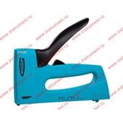 Степлер мебельный, пластиковый корпус,регулировка удара, тип скобы 13, 53, 300, 6-16мм// GROSS фото