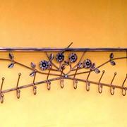 Вешалки для верхней одежды настенные кованые производство продажа фото