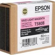 Картридж Epson Vivid Light Magenta для Stylus Pro 3800 насыщенный светло-пурпурный фото