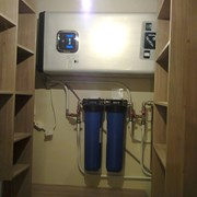 Установка водонагревателей накопительного типа фото