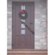 Двери из красного дерева, арт. 21 фото