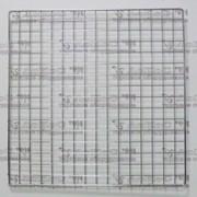 Панель-сетка 1000*800мм, хром, GP100*80 фото