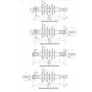 Линейный изолятор ЛКЦ 70-20-5 фото