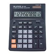 """Калькулятор Skainer """"SK-444L"""" 12 цифр, питание от солнца и батареи SK-444L фото"""