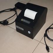 Чековый принтер с отрезчиком фото