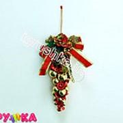 Гроздь шаров новогодние 64-0028 фото