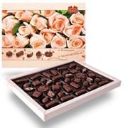 Набор шоколадных конфет ОТ КОММУНАРКИ С НЕЖНОСТЬЮ, 380г фото