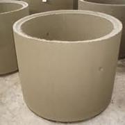 Колодезные бетонные кольца фото