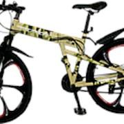 Велосипед Salamon TRIANGLE камуфляжный на литых дисках фото