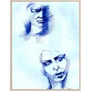 Картина-зарисовка фото
