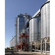 Оборудование для переработки зерновых культур. Зерносушилки СВМ 1-6. Стационарные зерносушилки жалюзийного типа. фото