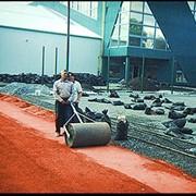 Строительство теннисных кортов. Строительство спортивных площадок. фото