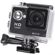 Экшн камера/видеорегистратор Zodikam Z50W Black (12МП, 1920x1080, 170°, 2``, 900 mAh, WiFi фото