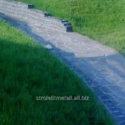 Каменная отделка тропинок фото