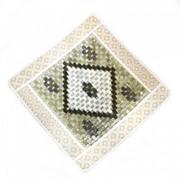 Нефритовый коврик - квадратный Люкс, 43х43 см фото