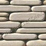 Плитка галтованная из природного камня песчаника для облицовки стен Мартеле, код Г42 фото