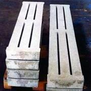 Пол бетонный щелевой фото