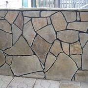 Облицовка природным камнем фото