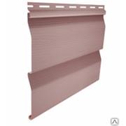 Cайдинг виниловый Ю-Пласт Корабельный брус Розовый фото