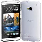 Чехол TPU Eggo для HTC One / M7 Бесцветный прозрачный фото
