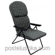 Кресло шезлонг Фридрих хлопок Серый фото