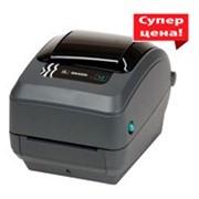 Принтер штрих-кода Zebra GK 420 фото