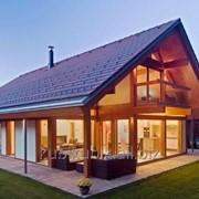 Дома деревянные по каркасной технологии фото