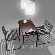 Мебель для ресторана и кафе ручной работы фото