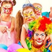 Услуги клоунов, аквагрим фото