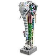 Скульптура Слон Корни 23х51х19см. арт.TG-4391 (Thomas Hoffman) фото