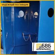 Шкаф ШБ-2-4, вместимость 4 баллона 50 л фото