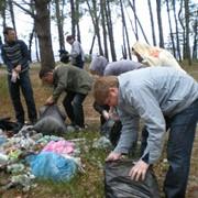 Уборка территории. фото