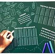 """Покрытие 411785 стола для лепки НПД 2 """"Таблица умножения"""" см_43*32 ( 1 шт.) фото"""