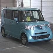 Микровэн HONDA N BOX кузов JF1 класса минивэн модификация G год выпуска 2015 пробег 83 тыс км цвет синий фото