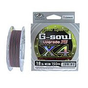 Шнур плетеный YGK G-Soul Upgrade x4 #0.4 0.104мм 150м фото
