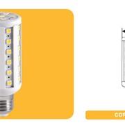 Светодиодные лампочки CORN E27 54 SMD фото