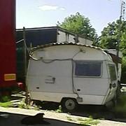 Автоприцеп (автокемпер), автотрейлер, б/у, корпус утеплен, недорого фото