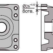 Станки для обработки детали «Пятник». Чертеж №891.01.164 фото
