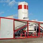 Бетонный завод SUMAB K-40 Мобильный БСУ,РБУ бетонный узел фото
