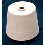 Пряжа 100% хлопчатобумажная пневмо-механического способа прядения, ткацкая Nm32/1, 32/2 (54/1 ,54/2) фото