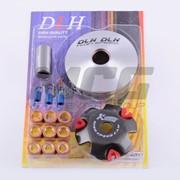 Вариатор Передний тюнинг Honda Dio AF27 ролики латунь 9шт, палец, пр. сцепления DLH фото