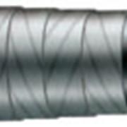 Рукава резиновые ТУ 38-105-358-81 с нитяным усилением для промывки буровых скважин. Предназначены для подачи промывочной жидкости (глинистого раствора или воды) от приводного насоса для промывки забоя в бурящуюся скважину. фото