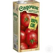 Садочок сік 0,95л томатний фото