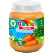 Пюре морковное детское Gamma BIO фото