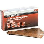 MATRIX Гвозди финишные, (шпильки) 23GA для пневматического нейлера финишного D 0,64 мм, длина 15 мм, 5000 шт. MATRIX фото