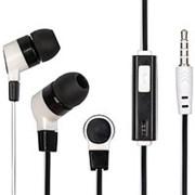 Наушники вкладыши с микрофоном Dialog ES-05 мобильная гарнитура, белые фото