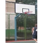 Ферма баскетбольная уличная Г-образная фото
