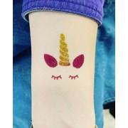 Блеск-тату  (временные татуировки блестками) фото