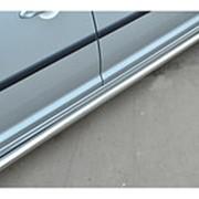 Пороги VW Caddy короткая база 2013 - наст.время (вариант 3 труба 63 мм) фото