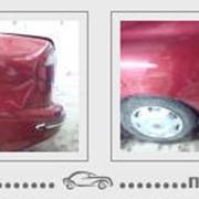 Выравнивание вмятин на автомобиле фото